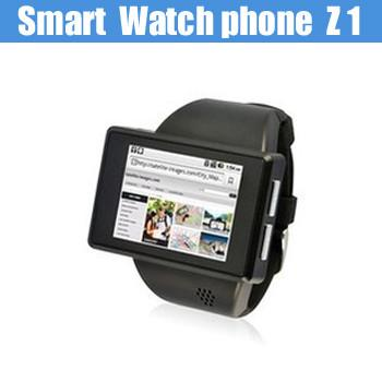 b97c0a7996dc 2014 Latest Android 2.2 Smart Watch Phone Z1 with Wifi and GPS Dual-core  Images