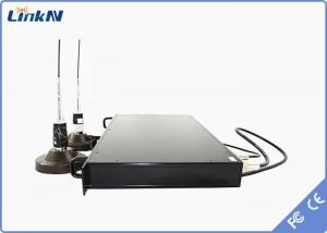 China 20W long range NLOS video transmitter  HD Vehicle Mountable COFDM Video Transceiver System on sale