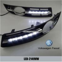 Volkswagen VW Passat 06-09 DRL LED Daytime Running Lights Car driving daylight