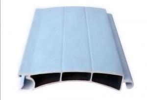 China 120um Powder Coated Garage Rolling Shutter Door Aluminum Extruded Profiles on sale