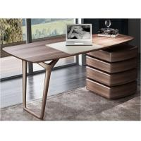 American Dark Walnut Wood Furniture Nordic design of Writing Desk Reading table in Home Study room Office Furniture