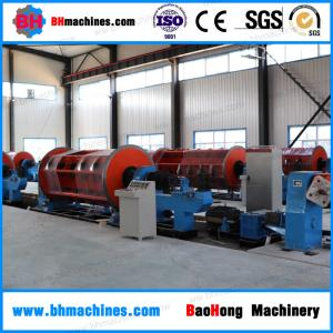 China 6+12+18+24/500 Rigid Frame Stranding Machine For Copper Wire & Cable on sale
