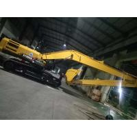 Sany 365 Long Reach Excavator Booms And Stick 18 Meter for long distance operation and sea port consturction