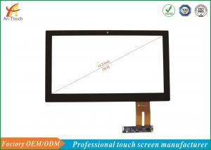 China 13.3 Inch Industrial Touch Panel Anti - Radiation With AR / AF / AG Glass on sale