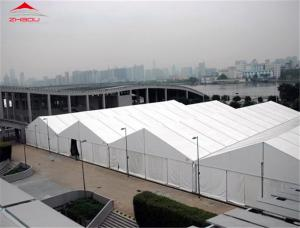 China Anti - UV 20m Industrial Storage Tents With High Reinforced Aluminum 6061 / T6 Material on sale