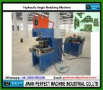 Hydraulic Notching Machine for Steel Angle