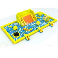 Latest Inflatable Amusement Park With Plastic Ball , Inflatable Toys Park For Kids