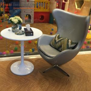 Fine Luxury Living Room Hotel Lobby Furniture Gray Leather Egg Ibusinesslaw Wood Chair Design Ideas Ibusinesslaworg