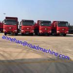 12TIRES EUROII Low Fuel Consumption Efficient Tipper Dump Truck 371HP 8x4 RHD