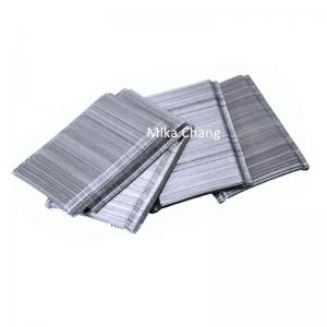 China Cho 65/35 SIKA Glued Steel Fiber Hooked End For Cement Building Materials on sale