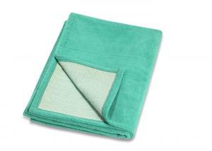 China Lightweight 100% Microfiber Yoga Mat , Soft Feeling TPE Base Cloth Yoga Mat on sale