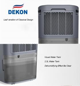 China DKD-Z12A 12L new designed home portable dehumidifier and air purifier with optional HEPA and active carbon filter on sale