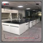 Heavy Chemical Laboratory Furniture  / Lab Tables Work Benches With Faucet