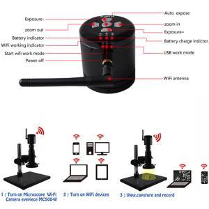 China 5 Megapixels wifi tablets digital microscope camera eyepiece, amanda@ostec.com.cn on sale