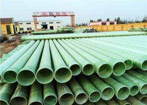 China factory supply Glass Fiber Reinforced Plastic FRP Pipe and Fitting on sale