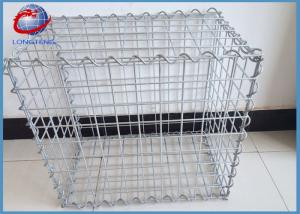 China Low Carbon Steel Welded Gabion Box With 50mm Hole Size Simple Installation on sale