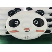 Black / White Panda Inflatable Water Floats Pool Toys For Kids 200*180*40cm