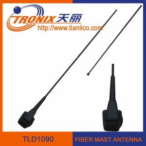 China 1 section fiber mast car antenna/ car am fm antenna/ active radio antenna TLD1090 supplier