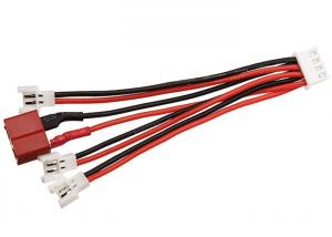 China RED Black Battery Wire Connectors JST XH 4P Balance Plug Converter 100 Mm Length on sale
