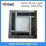 8x8 inch Square Solar Paver Lights Patio Garden Landscaping Solar Underground Lights Solar Brick Lights