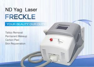 China Water Cooled Nd Yag Laser Tattoo Removal Machine 1-10HZ Frequency on sale