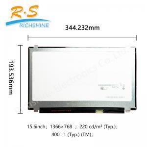 China B156 X TN04.6 15.6 1366*768 Auto LCD Screen 15.6 slim glossy in stock on sale
