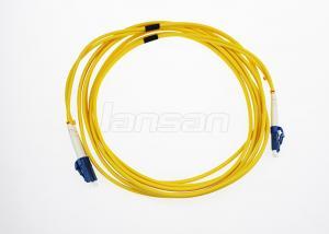 China OM3 Multimode LC Fiber Optic Patch Cord Duplex 1 Meter Duplex IEC Standards on sale