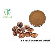 China 30% Lentinan Shiitake Mushroom Powder Brown Yellow Powder Anti - Virus on sale