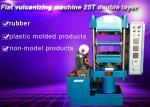 Flat vulcanizing machine 25T double layer