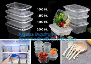 China Transparent plastic fresh-keeping food storage container,plastic food lunch box,Food Portions box Perfect Portions food on sale