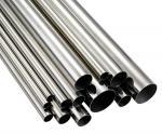 316L 等級によって溶接されるステンレス鋼の円形の管の銀 0.3mm - 40mm の厚さ