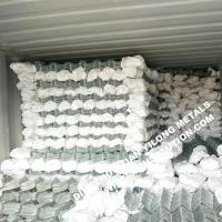 China 50mm Corrison Resistance Hot Dipped Galvanized Chain Link Fencing on sale