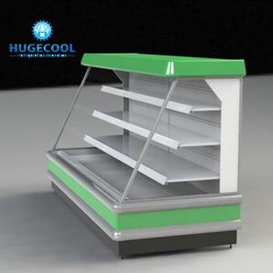 China Commercial Upright Display Chiller Microcomputer Temperature Control With Digital Display on sale