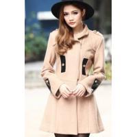 2013 Fashion Woolen Close Slim Coat