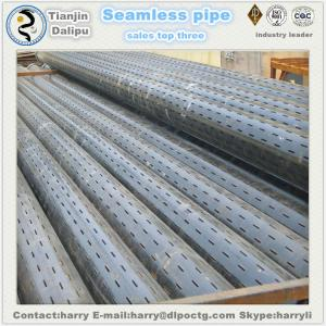 China 6-5/8STAINLESS PIPE Oil well slotted screen slotted casing pipe slotted liner on sale