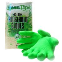 China Bi-color,Household Latex glove,Flock Iined on sale