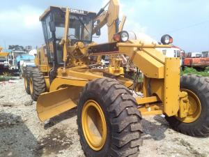 Quality Caterpillar 140H Used Motor Grader new painting 185hp CAT 140 for sale ...