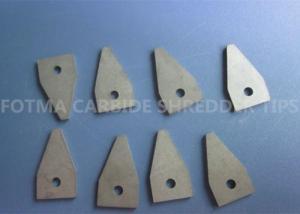 China Le défibreur adapté aux besoins du client de carbure de tungstène K20 incline des outils de coupe pour des machines de broyeur on sale
