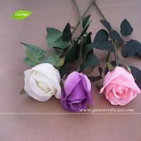 China GNW FLS11 Cheap Wholesale Artificial Flowers Buy from Alibaba Fabric Indian Rose Flower on sale