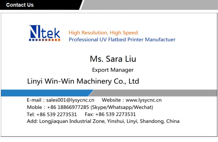 Ntek YC2513G China Factory Ricoh Gen5 Print Head Digital LED Inkjet
