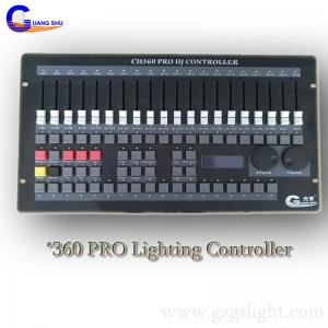 China Professional DMX Lighting Controller/Stage 360 DJ Light Console with easy operation on sale