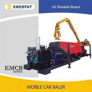 China Hydraulic scrap car baler press machine for sale on sale