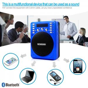 China Micro SD card music audio player portable bluetooth speaker on sale
