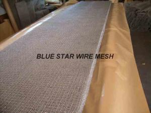 China Square Wire Mesh Mist Eliminator Stainless Steel / MONEL Demister Pad In Air Conditioner on sale
