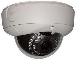 China 12VDC 700TVL IR CCTV Vandal Proof Dome Camera Indoor / Outdoor Day Night 850nm on sale