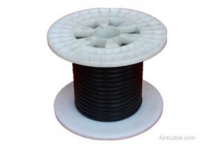 China Tinned Strands Silicone Rubber Cable , -60℃ To 180℃ Silicone Covered Wire on sale