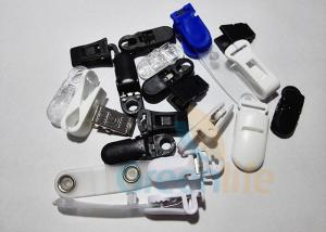 China Plastic ABS Safe Pacifier Suspender Clips Strap Clips Lanyard Accessories Black / White / Blue on sale