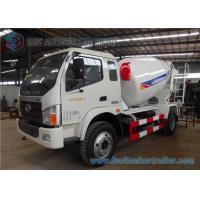 5 Cbm Forland Times Zhongchi J4 lorry cement mixer truck Yuchai 130 Hp Engine