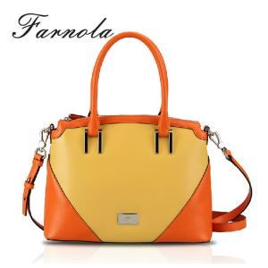 China wholesale ladies leather fossil handbags women bags 2014 on sale
