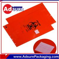 Custom Medical Biohazard Bags /Specimen Bags /Autoclave Bags/Medical Ziplock Bags